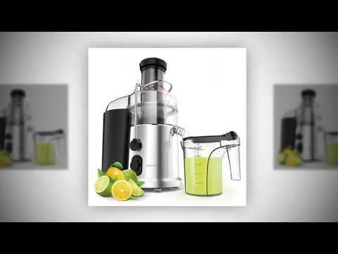 , Elechomes 2 Speeds High Speed 900W Wide Mouth Centrifugal Juicer for Fruits and Vegetables