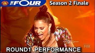 "Whitney Reign ""Lady Marmalade"" Round 1 Performance The Four Season 2 FINALE S2E8"