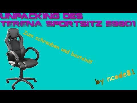TERENA Premium Sportsitz 59801 [Bürostuhl][german/deutsch][Unpacking]