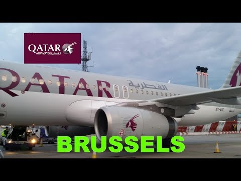 Rare business class flight review BA flight operated by Qatar Airways LHR to BRU during BA strike