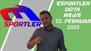 DE eSporler DOTA2 News 10 02 2020 - OG Comeback, Major closed Quali, DPC Liga & Dendi - B8