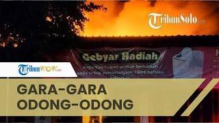 Toko Grosir di Klaten Terbakar Gara-gara Odong-odong, Kerugian Capai Rp 500 Juta