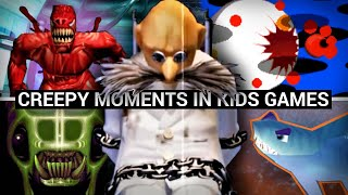 15 Oddly Creepy Moments in Kids Video Games