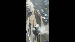 ardeşen otomobil yangını  ardesen.com