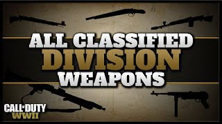 All Classified Division Prestige Weapons in CoD WW2!