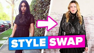 Best Friends Swap Styles For A Day