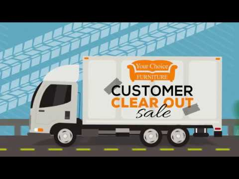 Customer Clear Out Sale - TV