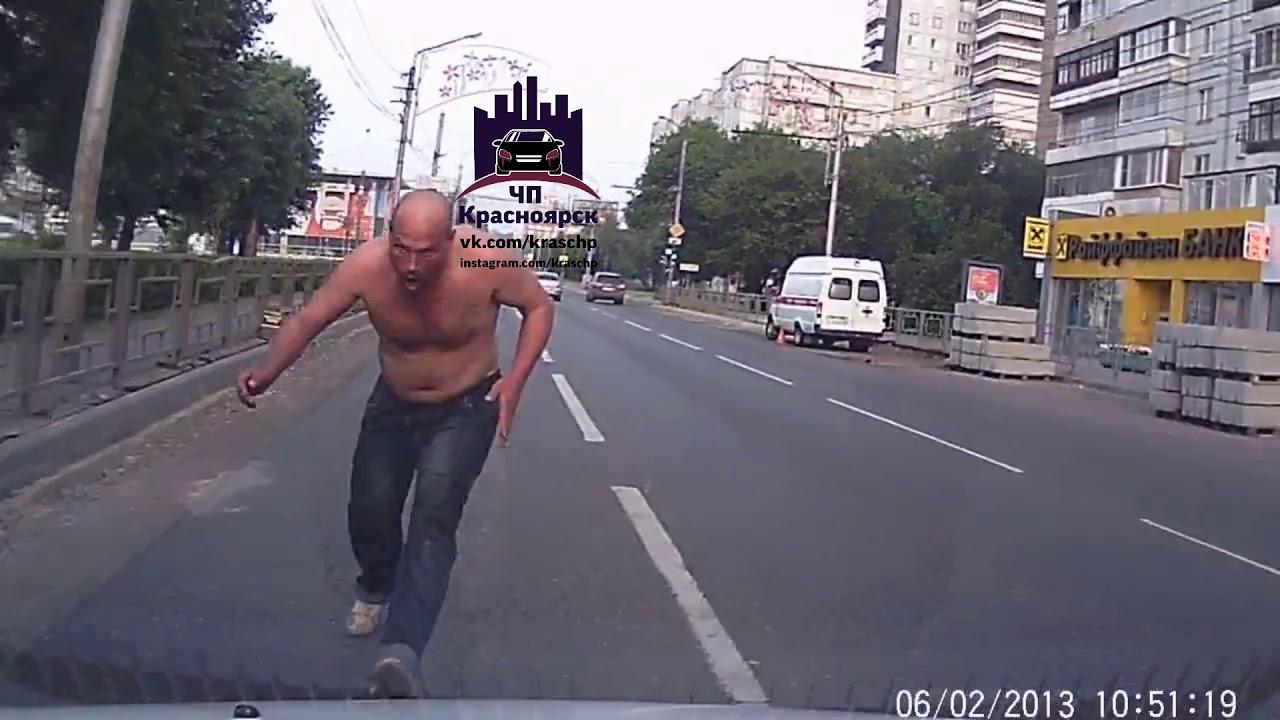 Страх и ужас на дороге в Красноярске