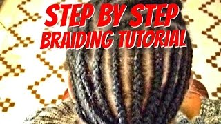 How To Cornrow Your Own Hair Braiding Cornrows For Beginners 123vid