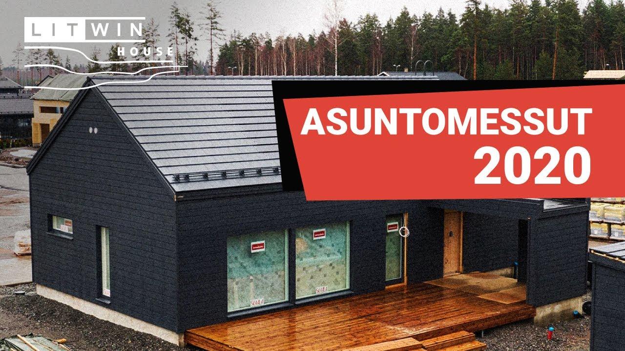 Asuntomessut 2020. Финская выставка загородных домов
