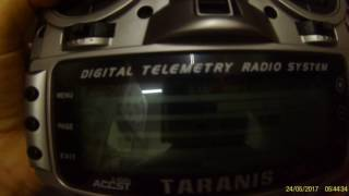 TARANIS X9D X8R LOST SIGNAL TELEMETRY WITH HIGH RSSI LEVEL 24 MAY 2017