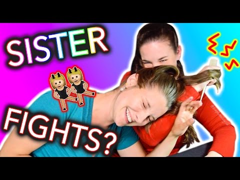 I PULL MY SISTERS HAIR | My Sister Paints my Nails - OUTTAKES / EXTRAS