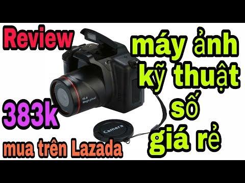 máy ảnh kỹ thuật số giá rẻ 383k mua trên Lazada và cái kết