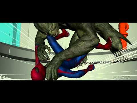 The Amazing Spider-Man: Sewer Battle Shot Build