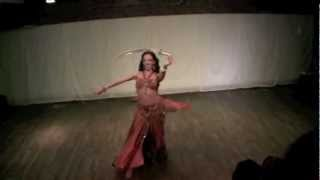 Set el Hosen and Sword Oriental dance ~ Sira Belly dancer NYC
