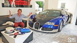 HYPERCARS INSIDE THE HOUSE! Veyron, LaFerrari and 599 GTO Drive