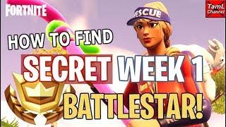 Fortnite: How to Find SECRET Week 1 Road Trip Battlestar!