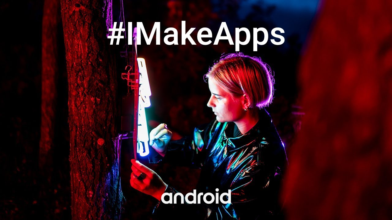 #IMakeApps | Josefin Eklund | Neon light artist | Forza Football | Sweden