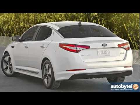 2012 Kia Optima Hybrid: Video Road Test and Review