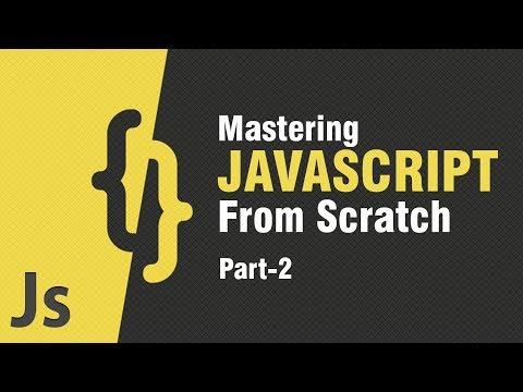 Introduction To Javascript | Objects, Arrays \u0026 Variables | Part 2 | Eduonix