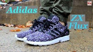 """Adidas Originals - ZX Flux """"Monochrome Prism"""" ON FEET"""