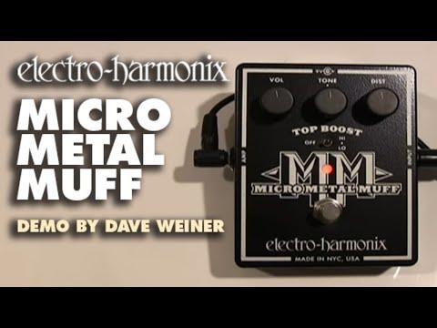 ELECTRO HARMONIX Micro Metal Muff Kytarový efekt