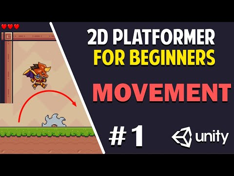 Unity 2D Platformer for Complete Beginners - #1 PLAYER MOVEMENT
