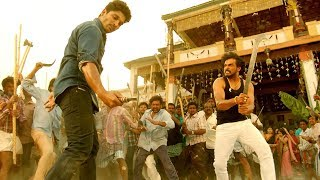 Allu Arjun Most Popular Power Pack Action Scene | Upendra | S/O Satyamurthy Movie | Volga Videos