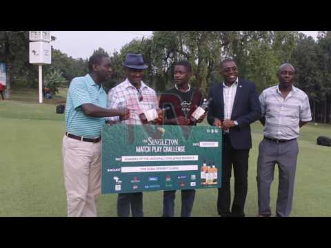 SINGLETON GOLF CHALLENGE: Winning pair flagged off for 2020 Dubai desert classic