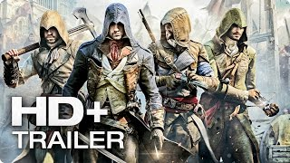 ASSASSINS CREED UNITY Koop Trailer | Deutsch German 2014 [HD+]