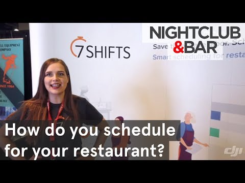 How do you schedule your restaurant? | Nightclub & Bar Show 2019 youtube video thumbnail