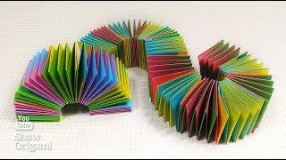 Игрушка антистресс - Игрушка пружинка из бумаги