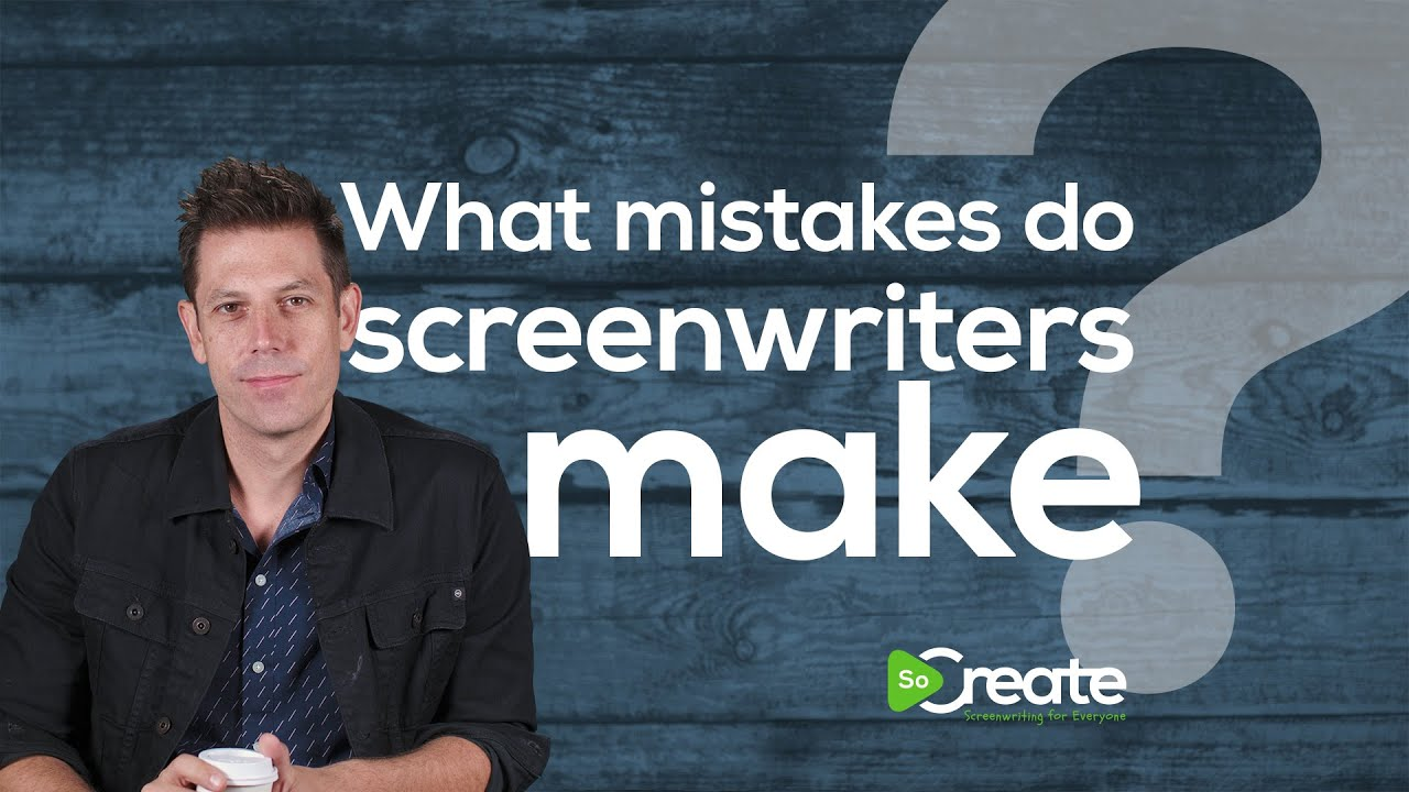 How to Avoid Common Mistakes Screenwriters Make, with Disney Writer Ricky Roxburgh