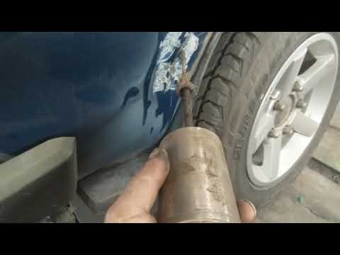 нива ремонт багажника