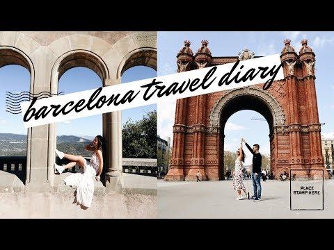 7 DAYS IN BARCELONA IN 7 MINUTES!   rachspeed