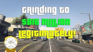 GTA Online Grinding To $816 Million Legitimately And Helping Subs