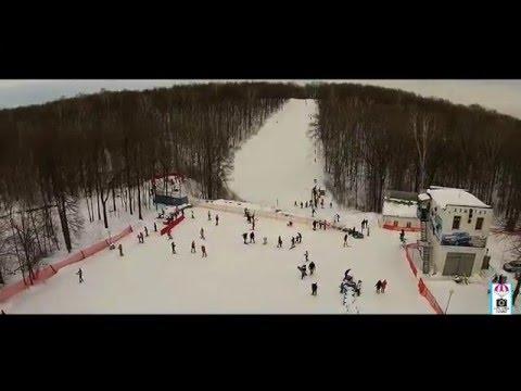 Видео: Видео горнолыжного курорта Куш-Тау в Башкортостан