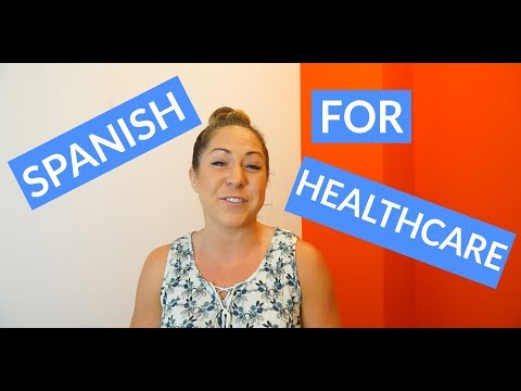 Medical Spanish Terms for Healthcare Professionals - YouTube
