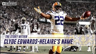 The Story Within Clyde Edwards-Helaire's Name   CBS Sports HQ