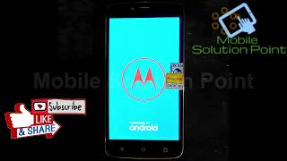 Bypass FRP Google Account For MOTO C XT1750 ANDROID-7 0