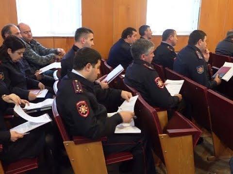 Подразделения милиции общественной безопасности подвели итоги работы