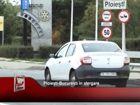 Ploiești-București în alergare