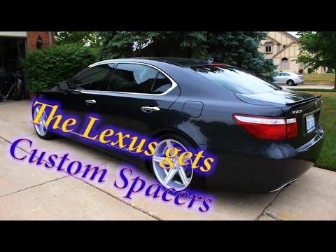 Lexus LS 600 HL Custom Wheel Spacers
