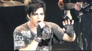Adam Lambert   HD   Mad World Unplugged Monte Spanish Guitar   River Rock Casino   Vancouver Canada
