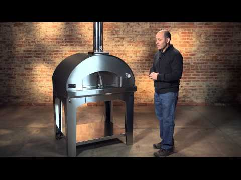 Fontana Forni Mangiafuoco Pizza Oven Overview
