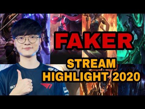 Tổng Hợp Quỷ Vương Faker Stream|| FAKER BEST OF STREAM HIGHLIGHT 2020 #1