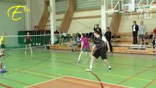 preview picture of video 'Badminton - Giżycko - GP WJM'