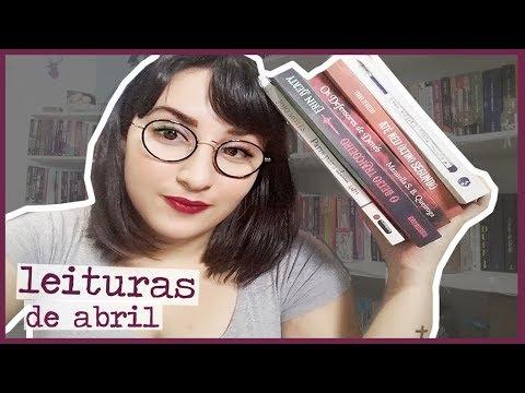 LEITURAS DE ABRIL | 2018 | por Carol Sant