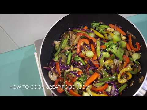 Easy Chinese Stir Fry Vegetables Recipe – Vegan Vegetarian