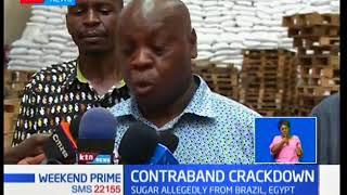 Police seize contraband sugar in Mombasa
